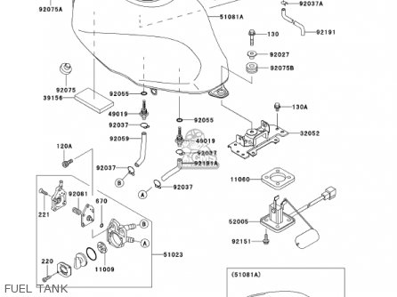Kawasaki Er500c1 Er5 2001 Canada parts list partsmanual