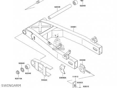 Kawasaki Er500c1 Er5 2001 Canada parts list partsmanual