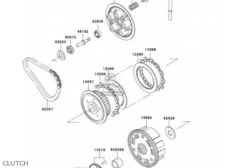Kawasaki ER500C2 ER5 2002 CANADA parts lists and schematics