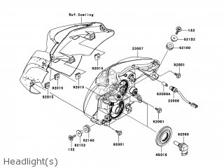 Kawasaki Er650c9f Er6n 2009 Usa parts list partsmanual