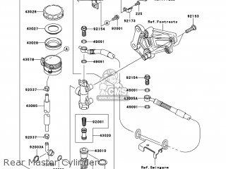 Kawasaki EX250JCF NINJA 250R 2012 USA parts lists and