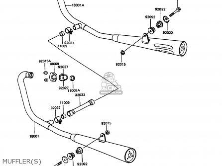 Kawasaki EX305B7 GPZ305 1989 FG / BELT DRIVE parts lists