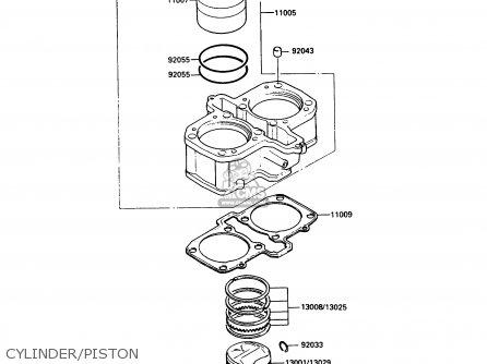 Kawasaki EX500A4 GPZ500S 1990 UNITED KINGDOM AR parts