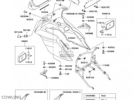 Kawasaki Ex500d9 Ninja 500r 2002 Usa California Canada