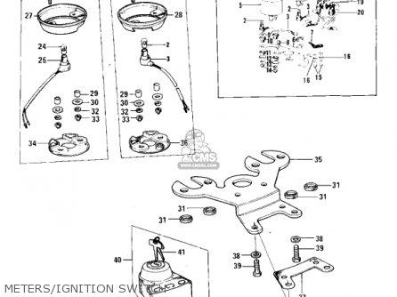 Kawasaki F11A 1974 USA parts lists and schematics