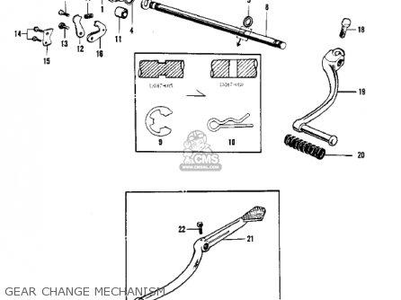Kawasaki F3 Bushwacker 1968 Ar Usa parts list partsmanual