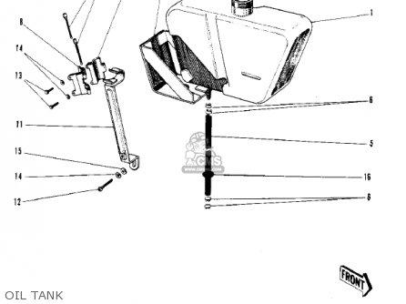 Kawasaki F3 BUSHWACKER 1968 AR USA parts lists and schematics