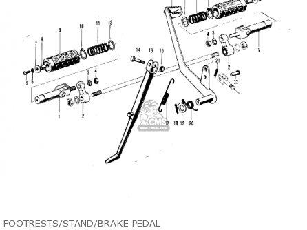Kawasaki F5 BIG HORN 1970 USA parts lists and schematics