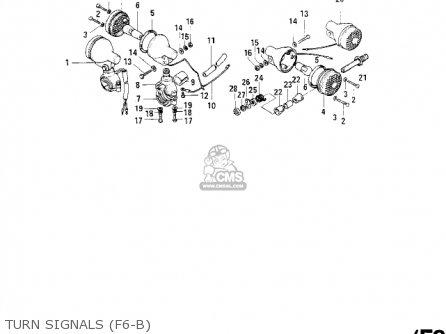 Kawasaki F6A 1972 USA CANADA parts lists and schematics