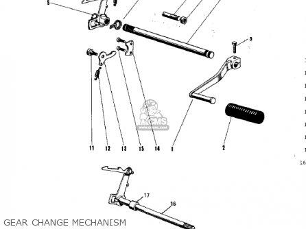 Kawasaki G31m Centurion 1970 parts list partsmanual partsfiche