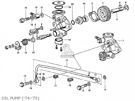 Kawasaki G3SSB 1972 USA CANADA parts lists and schematics