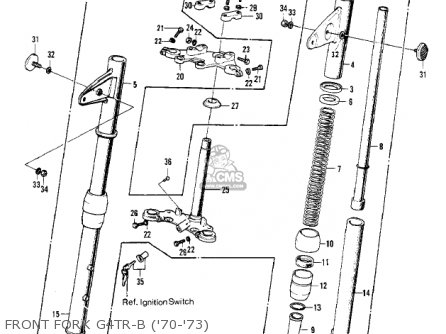 Kawasaki G4TRD 1974 USA parts lists and schematics