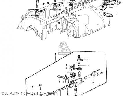Kawasaki H1D 1973 CANADA parts lists and schematics