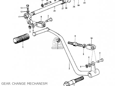 Kawasaki H2B MACH IV 1974 CANADA parts lists and schematics