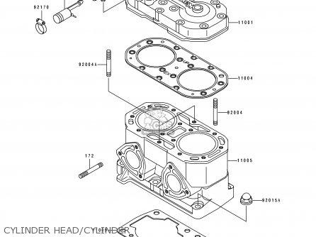 Kawasaki Jf650-a10 Jetskix2 1995 France Al parts list