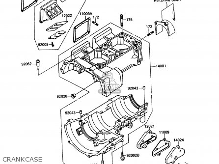 Kawasaki JF650-B2 JETSKI 1990 USA CANADA / TS parts lists