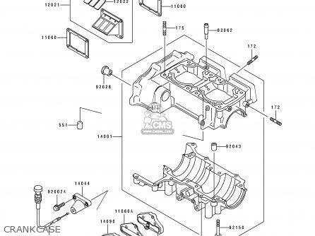 Kawasaki Jf650-b7 Jetski 1995 France Al / Ts parts list