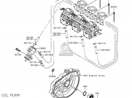 Kawasaki Jh1100-a3 Jetski1100zxi 1998 Europe Fr As parts