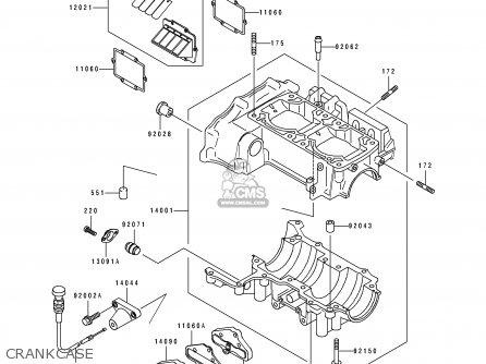 Kawasaki JH750-A1 JETSKIX4 1992 FRANCE AL parts lists and