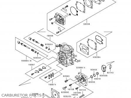 Kawasaki JH750-B2 JETSKISUPERSPORTXi 1994 FRANCE AL parts