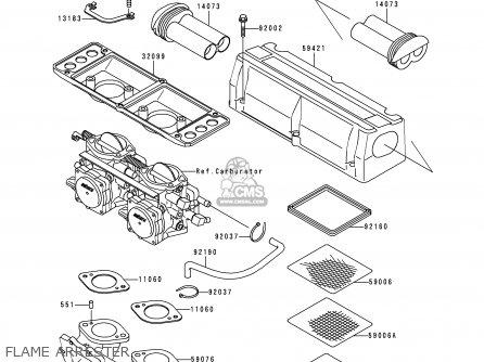 Kawasaki JH750-G2 JETSKIXISPORT 1999 EUROPE AS parts lists