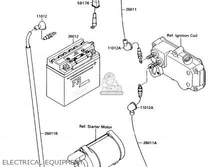 Kawasaki JS300-A1 JETSKI300SX 1987 USA parts lists and