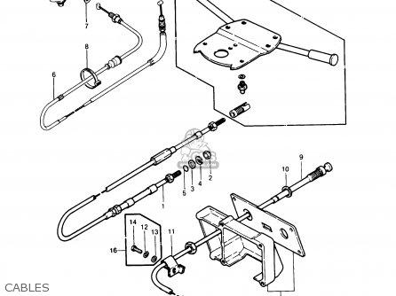 Kawasaki Js440-a11 Jetski440 1987 Usa parts list