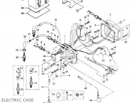 Kawasaki Js440-a13 Jetski440 1989 United Kingdom Fr Al It