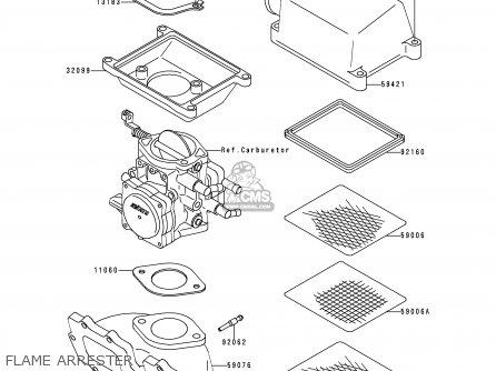 Kawasaki Js750-a1 Jetski750sx 1992 France Al parts list