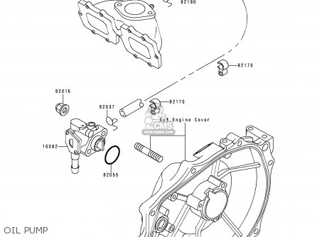 Kawasaki JS750-A2 JETSKI750SX 1993 FRANCE AL parts lists