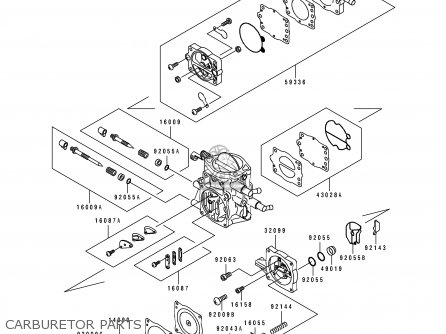 Kawasaki JS750-B1 JETSKI750SXi 1995 USA CANADA parts lists