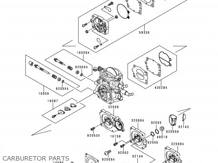 Kawasaki Jt1100-a1 Jetski1100stx 1997 Europe Fr As parts