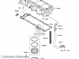 Kawasaki JT1500-B8F JETSKI ULTRA 250X 2008 USA parts lists