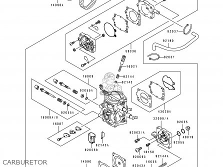 Kawasaki JT750-A1 JETSKI 1994 USA CANADA / ST parts lists