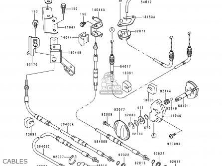 Kawasaki Jt750-b2 Jetski 1996 Usa Canada / Sts parts list