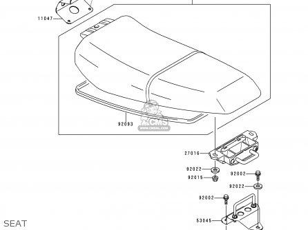 Kawasaki JT750-B2 JETSKI 1996 USA CANADA / STS parts lists