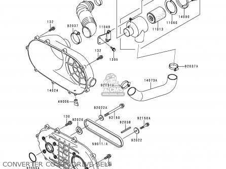 Kawasaki Mule 3000 Parts Diagram