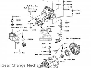 Kawasaki KAF400-A9F MULE610 2009 USA / 4X4 parts lists and