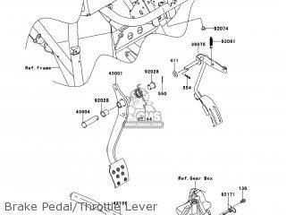 Kawasaki KAF400-ACF MULE610 2012 USA / 4X4 parts lists and