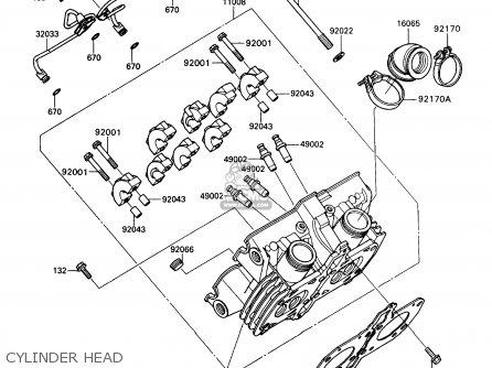 Kawasaki Kaf450-b1 Mule1000 1988 Usa parts list