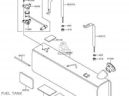 Kawasaki Kaf620-a6 Mule2510 2000 Europe parts list