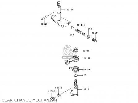 Kawasaki Kaf620-c4 Mule2500 1998 Europe parts list