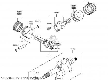 Kawasaki Kaf620-c6 Mule2500 2000 Europe parts list