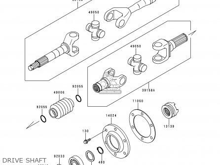 Kawasaki KAF620-C6 MULE2500 2000 EUROPE parts lists and