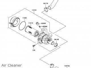 Kawasaki Kaf620-h8f Mule3010 2008 Usa / 4x4 parts list