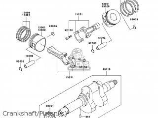 Kawasaki KAF620-MBF MULE4010 2011 USA / 4X4 parts lists