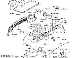 Kawasaki KAF620-MEF MULE4010 2014 USA / 4X4 parts lists