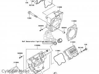 Kawasaki KAF620-N9F MULE 4010 2009 USA / 4X4 parts lists