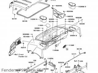 Kawasaki Kaf620-paf Mule4000 2010 Usa parts list