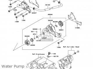 Kawasaki Kaf620-pcf Mule4000 2012 Usa parts list